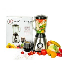 Belaco Multi Blender with Glass Jar & a Grinder(Model:BB-306)