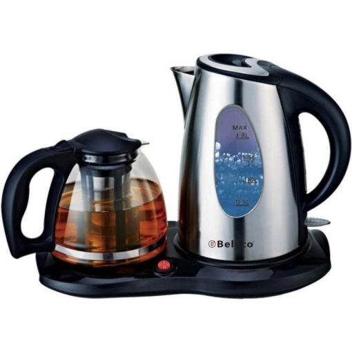 Belaco Stainless steel Kettle with Pot (Model-BKTP-01)