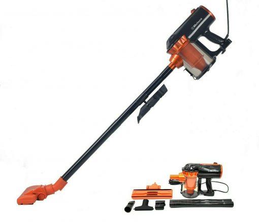 Belaco Upright 600W Corded Vacuum Cleaner(Model: BUVC133) 3in1 Bagless Handheld VAC Black