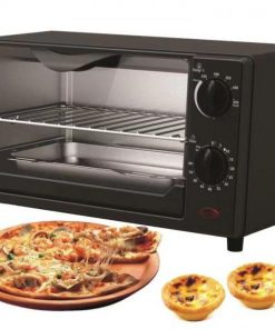 Belaco Mini 9L Toaster oven(Model: BTO-108) Tabletop Cooking Baking Portable oven 650W