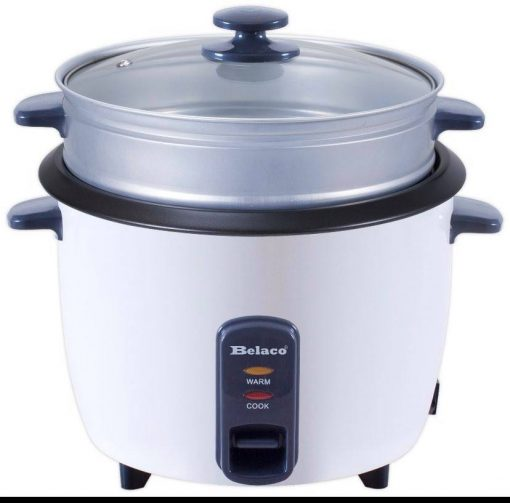 Rice Cooker With Steamer 1.8L